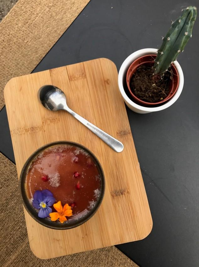 1 - Panna Cotta jasmin et gelée de mangue